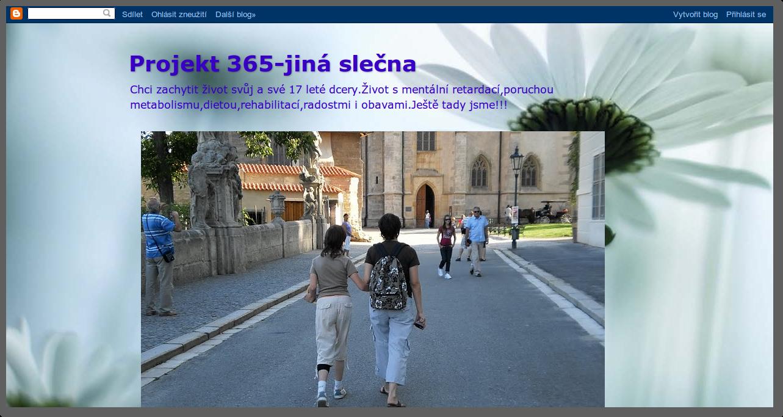 Projekt 365 – Jiná slečna